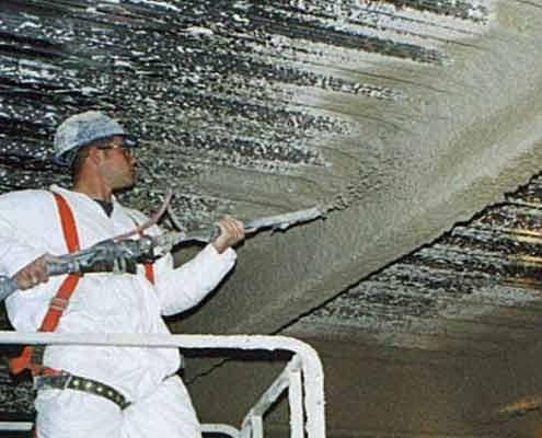 پوشش ضد حریق پایه معدنی