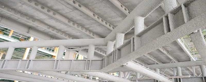 اجرای پوشش ضد حریق بر عرشه های فولادی